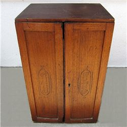 TOBACCIANA Antique Mercantile CIGAR Cabinet SIN PAPEL SEGARS
