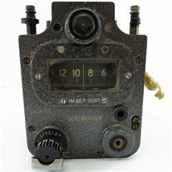 RUSSIAN TANK Vintage GPK-59 GYROSCOPE COMPASS Military Gyrocompass T-72 BMP-1