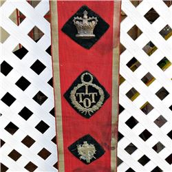 INDEPENDENT ORDER OF TRUE Good TEMPLARS Antique Temperance IOGT IOTT SASH Africa