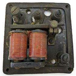 LOS ANGELES RAILWAY Antique MODEL 101 BUZZER Faraday Type STANLEY & PATTERSON