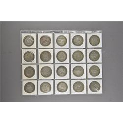 20 Pieces of Chinese Silver Zodiac Coins