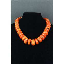 Chinese Natural Pink-Coral Necklace