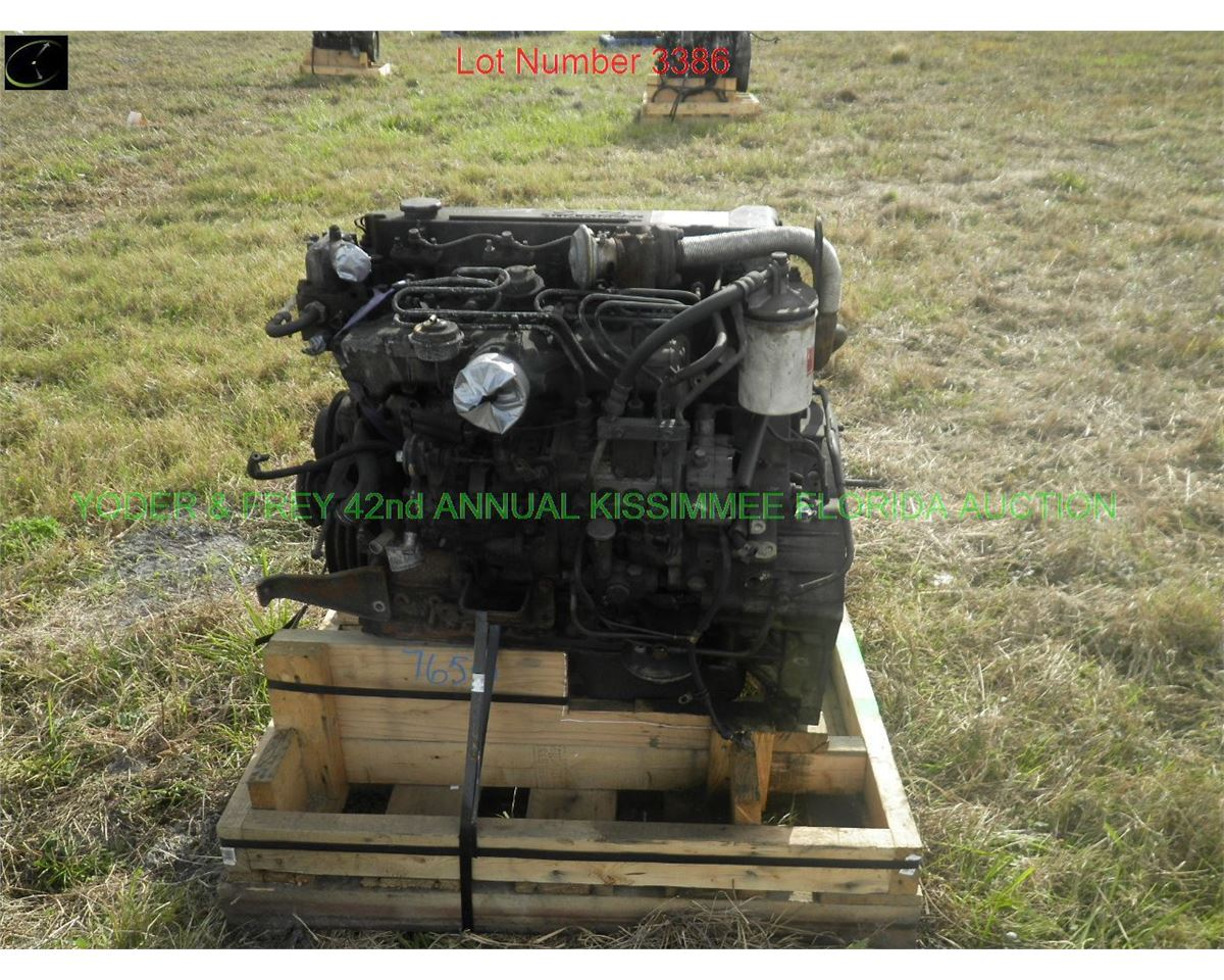isuzu 4hk1 diesel engine sn 89085 will interchange with. Black Bedroom Furniture Sets. Home Design Ideas