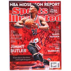 Jimmy Butler Signed 2015 Sports Illustrated Magazine (Schwartz COA)