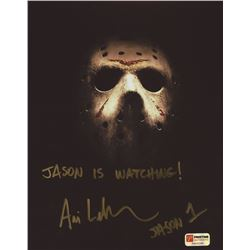 "Ari Lehman Signed ""Friday the 13th"" 8x10 Photo Inscribed ""Jason Is Watching!"" & ""Jason 1"" (PA COA)"