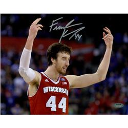 Frank Kaminsky Signed Wisconsin 8x10 Photo (Schwartz COA)