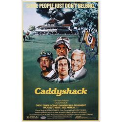"Michael O'Keefe Signed ""Caddyshack"" 11x17 Photo Inscribed ""Noonan"" (Schwartz COA)"