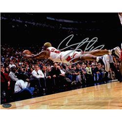Dennis Rodman Signed Bulls 8x10 Photo (Schwartz COA)