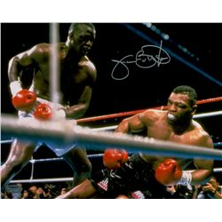 "James ""Buster"" Douglas Signed 8x10 Photo vs. Mike Tyson (Schwartz COA)"