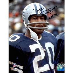 "Mel Renfro Signed Cowboys 8x10 Photo Inscribed ""HOF 96"" (PA LOA)"