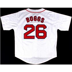 Wade Boggs Red Sox On-Field Style Custom Stitched Jersey (Size XL)