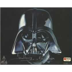 "Dave Prowse Signed Star Wars 8x10 Photo Inscribed ""Darth Vader"" (PA COA)"