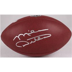 Mike Ditka Signed Football (Schwartz COA)