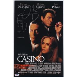 Sharon Stone Signed  Casino  11x17 Photo (PSA COA)