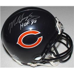 "Mike Singletary Signed Bears Mini-Helmet Inscribed ""HOF 98"" (Schwartz COA)"