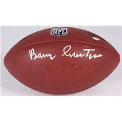 Barry Switzer Signed NFL Football (Schwartz COA)