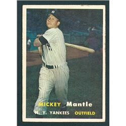 Mickey Mantle 1957 Topps #95