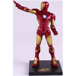 "Stan Lee Signed ""Iron Man"" High Quality Marvel Action Figure with Original Box (PSA COA)"