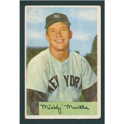 Mickey Mantle 1954 Bowman #65