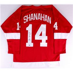 Brendan Shanahan Signed Red Wings Jersey (SI COA)