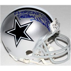 "Randy White Signed Cowboys Mini-Helmet Inscribed ""America's Team"" (Schwartz COA)"