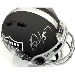 Bo Jackson Signed Raiders Full-Size Custom Authentic Proline Helmet (JSA COA)