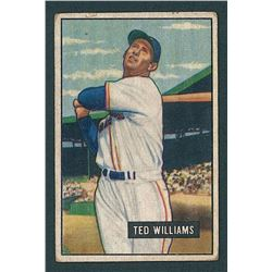 Ted Williams 1951 Bowman #165