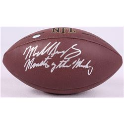 "Mike Singletary Signed Football Inscribed ""Monsters of the Midway"" (Schwartz COA)"