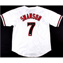 Dansby Swanson Signed Diamondbacks Jersey (JSA)