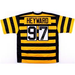 "Cameron Heyward Signed Steelers Jersey Inscribed ""Steelernation"" (TSE COA)"