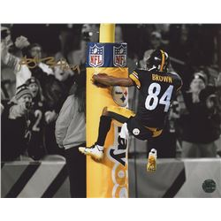 Antonio Brown Signed Steelers 8x10 Photo (TSE COA)