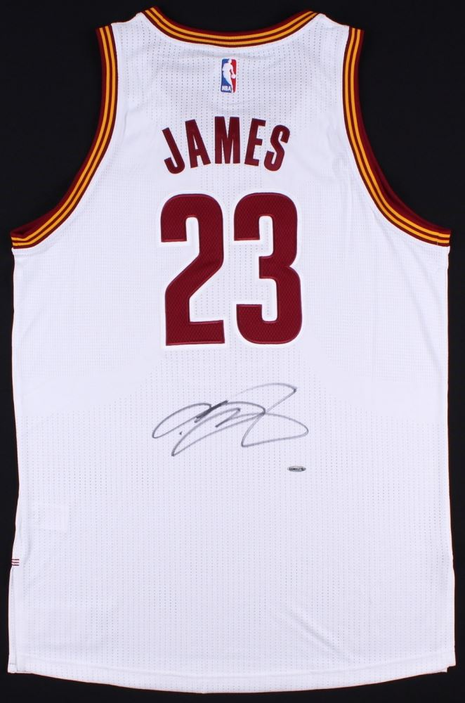 Image 1   LeBron James Signed Cavaliers Authentic On-Court Jersey (UDA COA)  ... 99e50a346