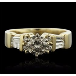 14KT Yellow Gold 1.40 ctw Diamond Ring