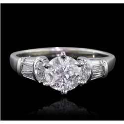 14KT White Gold 1.53 ctw Diamond Ring