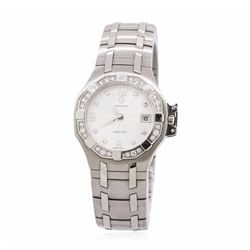 Concord Saratoga Stainless Steel 0.22 ctw Diamond Ladies Watch