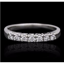 14KT White Gold 0.25 ctw Diamond Ring