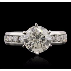 Platinum 2.89 ctw Diamond Ring