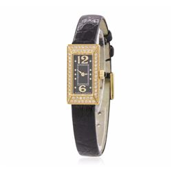 Marc Jacob Stainless Steel Diamond Watch