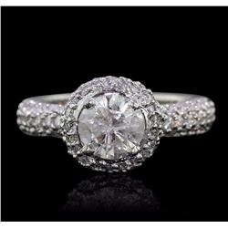 14KT White Gold 2.58 ctw Diamond Ring