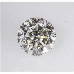 GIA Certified 0.73 ctw Round Cut Loose Diamond