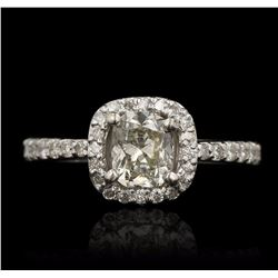 14KT White Gold 2.47 ctw Diamond Ring