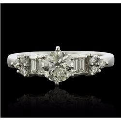 18KT White Gold 1.27 ctw Diamond Ring