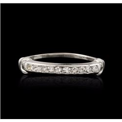 14KT White Gold 0.30 ctw Diamond Ring