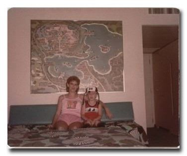 ... Image 6 : RARE ORIGINAL 1971 WALT DISNEY WORLD MAP WALL ART FROM  POLYNESIAN HOTEL ...
