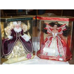 Holiday Barbies (2)