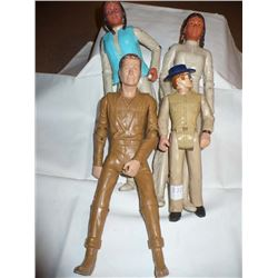 Johnny West Character Dolls (4)
