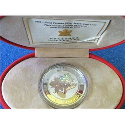 Canada 20$ 2003 Good Fortune silver Maple leaf 1 oz pure