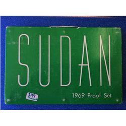 Sudan 8 coins Proof set from 1969, only 2149 were made.