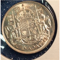 Canada 50 cents 1942 Mint state