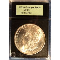 USA 1 Dollar 1899-O in Coinworld Holder marked MS-65.